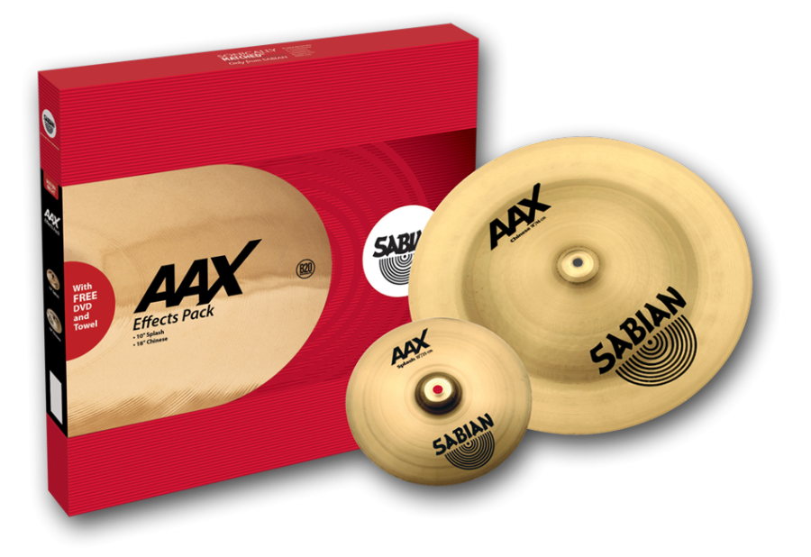 sabian aax cymbals effects pack long mcquade musical instruments. Black Bedroom Furniture Sets. Home Design Ideas
