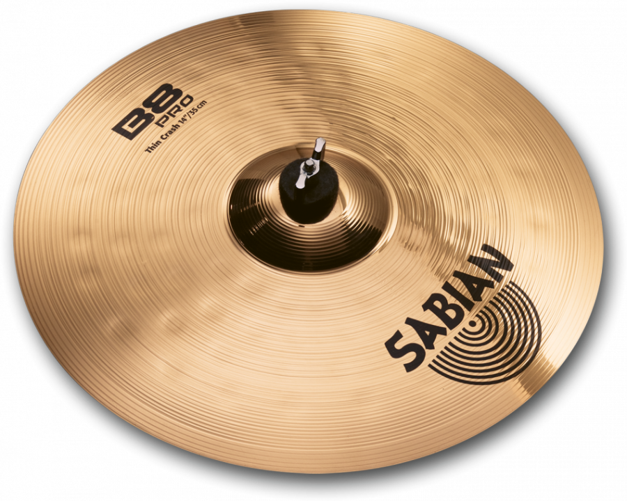sabian b8 pro thin crash cymbal 14 inch long mcquade musical instruments. Black Bedroom Furniture Sets. Home Design Ideas