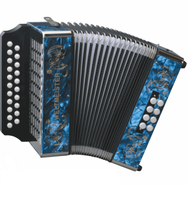 Diatonic Accordion - Key A/D - Red