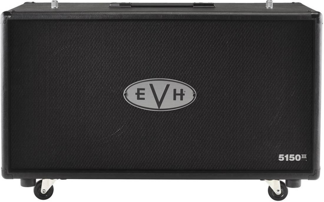 8a26e282b2a EVH 5150 III Mini 212 Cab - Black - Long   McQuade Musical Instruments