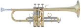 Bach - Stradivarius Artisan Collection D/Eb Trumpet -  Lacquer