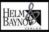 Helm & Baynov Verlag - Fileuse, Op.100, No.9 - Streabbog - Piano (1 Piano, 6 Hands)
