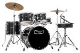 Mapex - Tornado Complete Rock Kit in Black - 20,10,12,14 & Snare Drum