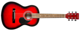 Denver - Acoustic Guitar - 3/4 Size - Red