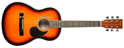 Acoustic Guitar -  3/4 Size - Sunburst