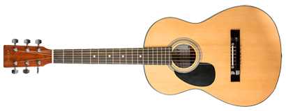 Acoustic Guitar - 3/4 Size -Left Handed - Natural