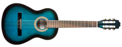 Classical Guitar - 3/4 Size - Blue