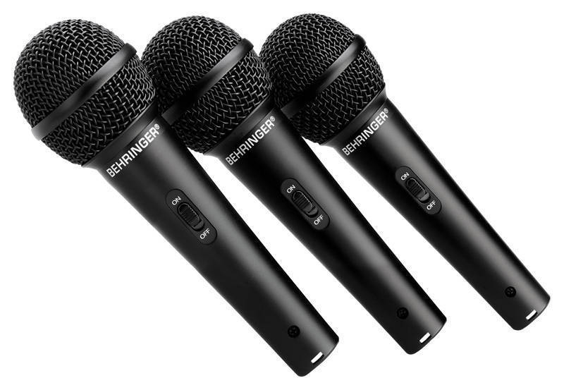 Dynamic Microphones Advantages : behringer dynamic microphones 3 pack long mcquade musical instruments ~ Vivirlamusica.com Haus und Dekorationen