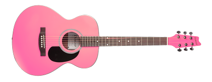 Acoustic Guitar - Folk Style - Pink