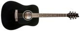 Denver - Acoustic Guitar - Full Size - Black
