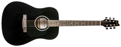 Acoustic Guitar - Full Size - Black