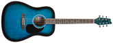 Denver - Acoustic Guitar - Full Size - Blue
