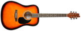 Denver - Acoustic Guitar - Full Size - Sunburst