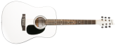 Denver - Acoustic Guitar - Full Size - White