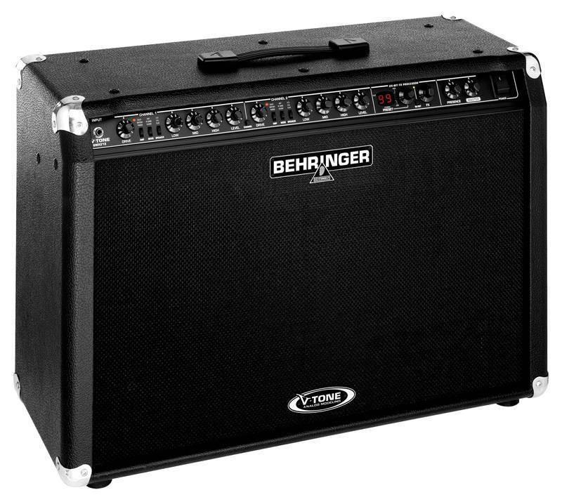 behringer v tone 2 x 60 watt stereo guitar amp long \u0026 mcquadebehringer v tone 2 x 60 watt stereo guitar amp