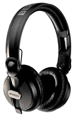 Closed-Type Hi-Def DJ Headphones