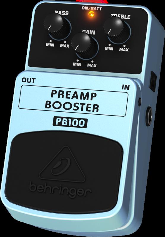 Behringer Preamplifier Volume Booster - Long & McQuade