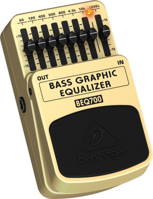 Ultimate 7-Band Bass Graphic Equalizer
