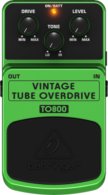 Vintage Tube Overdrive Effects Pedal
