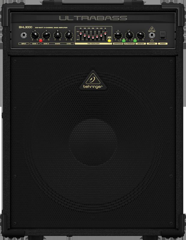 Behringer 300 Watt 2-Channel Bass Amplifier W/Original BUGERA ...