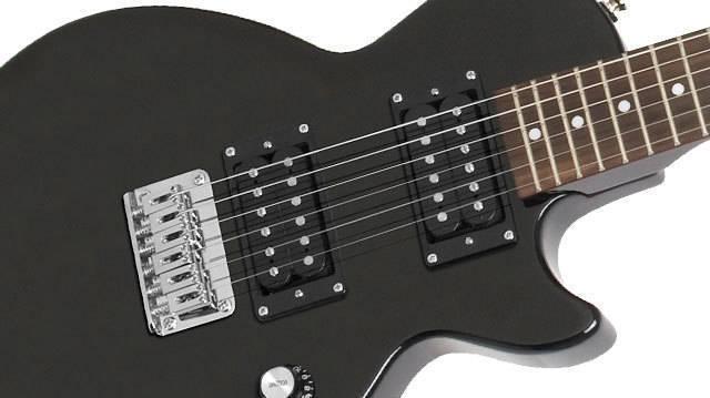 epiphone les paul express electric guitar ebony long mcquade musical instruments. Black Bedroom Furniture Sets. Home Design Ideas