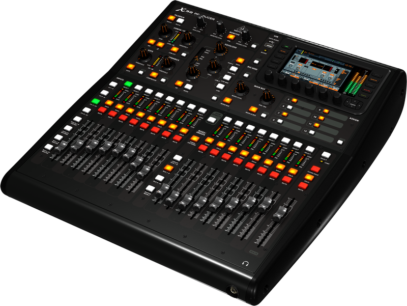 Behringer 40 Input 25 Bus Rack Mountable Digital Console