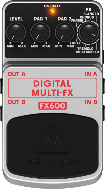 behringer digital stereo multi effects pedal long mcquade musical instruments. Black Bedroom Furniture Sets. Home Design Ideas