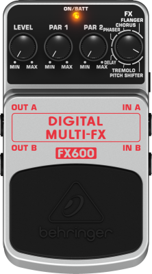 Digital Stereo Multi-Effects Pedal