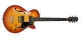 Godin Guitars - Montreal Premiere Supreme Electric Guitar - Lightburst Flame w/Tric Case
