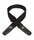 Lock-It Guitar Straps - 2 inch Poly Strap - Black