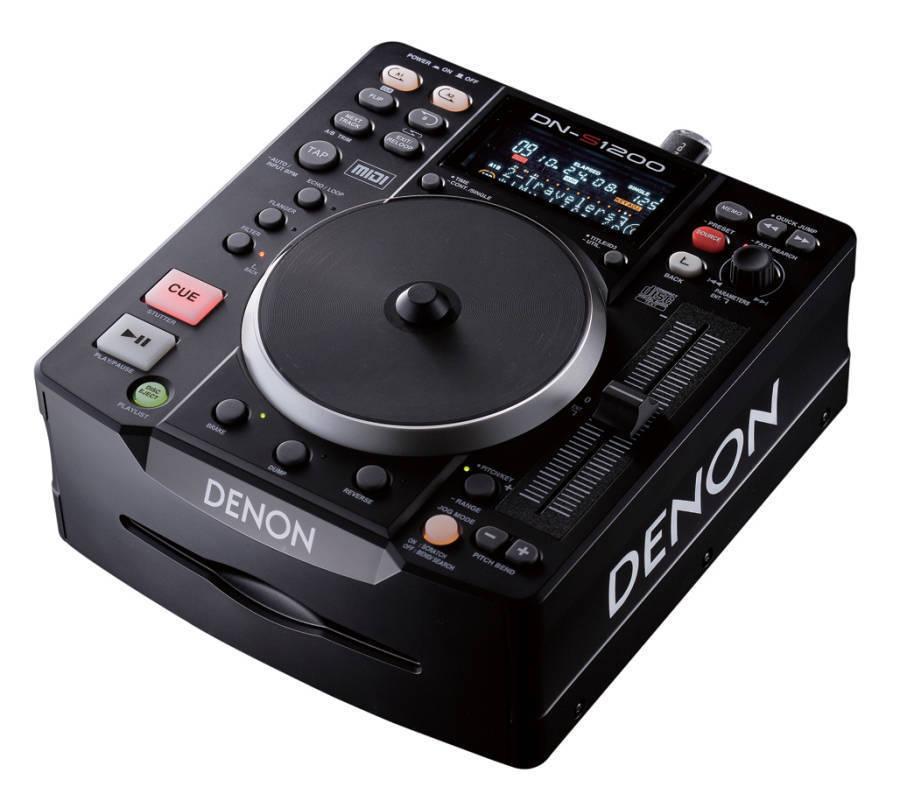 Denon Dn S1200 Cd Usb Player Controller Long Amp Mcquade