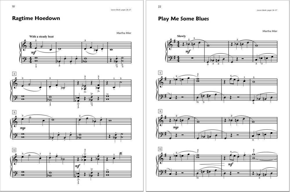 Piano easy piano blues sheet music : Alfred Publishing Premier Piano Course: Jazz, Rags & Blues Book 2B ...