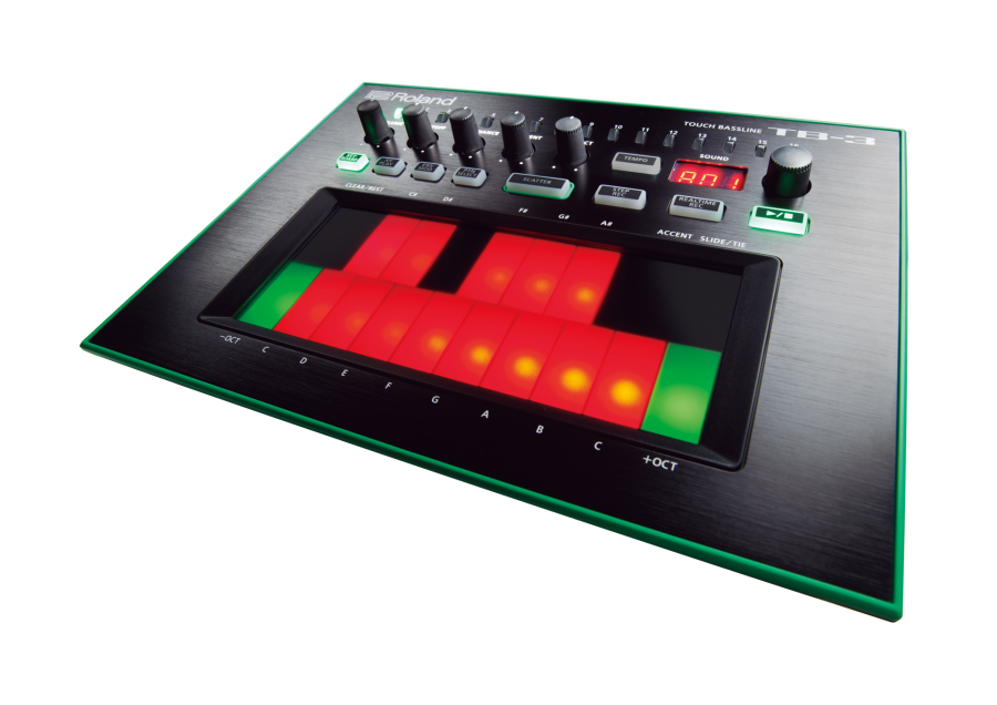 Roland - AIRA TB-3 Touch Bass-Line Synthesizer