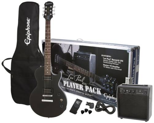 Les Paul Special II Player Pack - Black