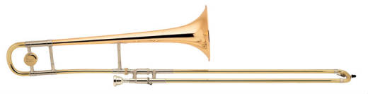 Stradivarius Model 12 Tenor Trombone - w/ Gold Brass Bell