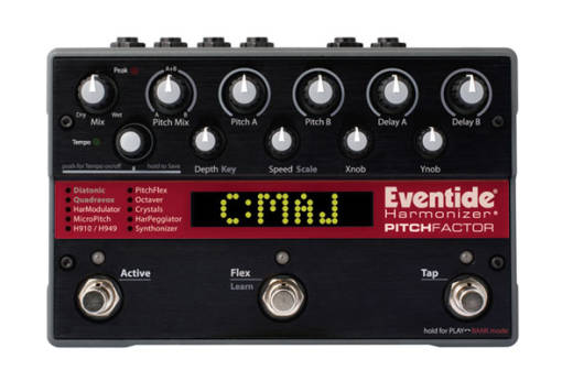 PitchFactor Guitar Effects Pedal