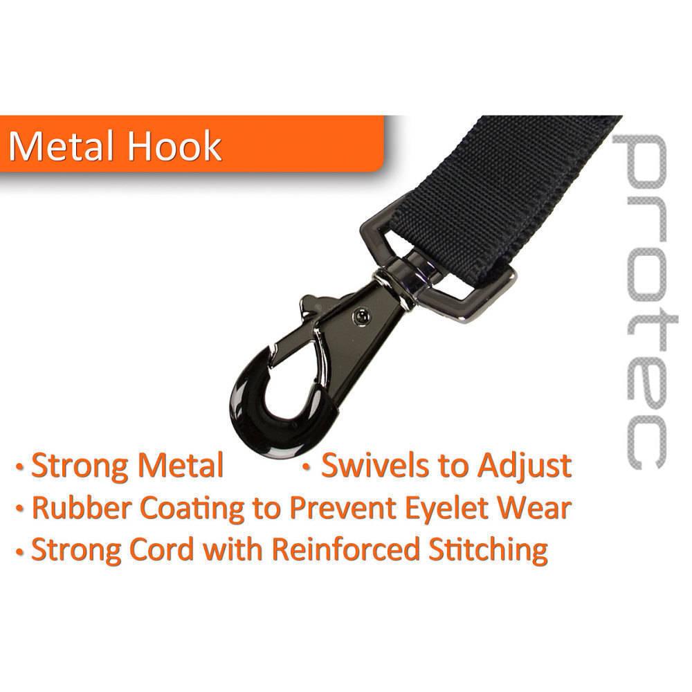 Neoprene Saxophone Neck Strap With Metal Snap