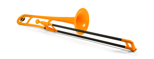 Plastic Trombone - Orange