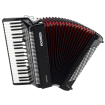 Hohner - Bravo III 120 Piano Accordion - Black
