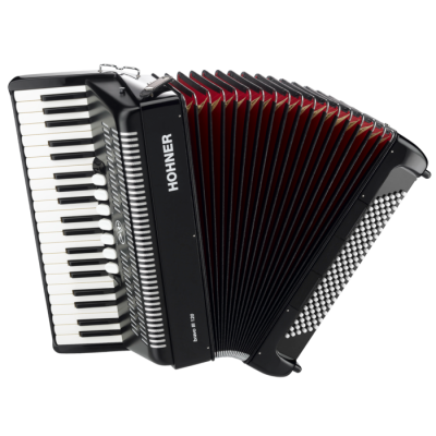 Bravo III 120 Piano Accordion - Black