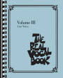 Hal Leonard - The Real Vocal Book Volume III - Low Voice