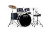 Mapex - Tornado 20,10,12,14 Drum Set w/Hardware & Throne - Blue