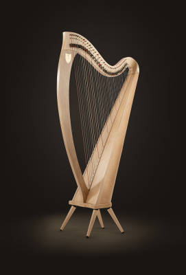 Ogden Lever Harp - 34 Strings - Natural