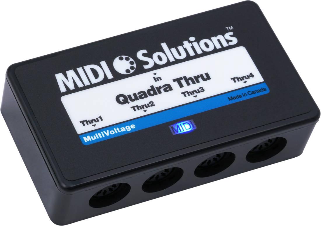 Midi Solutions Quadra Thru : midi solutions quadra thru long mcquade musical instruments ~ Hamham.info Haus und Dekorationen