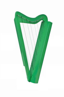 Harpsicle 26-string Harp - Green