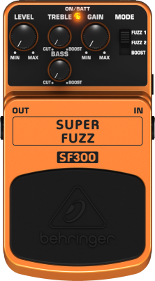 3-Mode Fuzz Distortion Effects Pedal