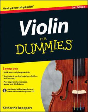 Mel Bay - Violin For Dummies, 2nd Edition - Rapoport - Book/CD
