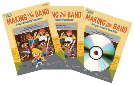 Making The Band (Musical Revue) - Jacobson/Emerson - Classroom Kit