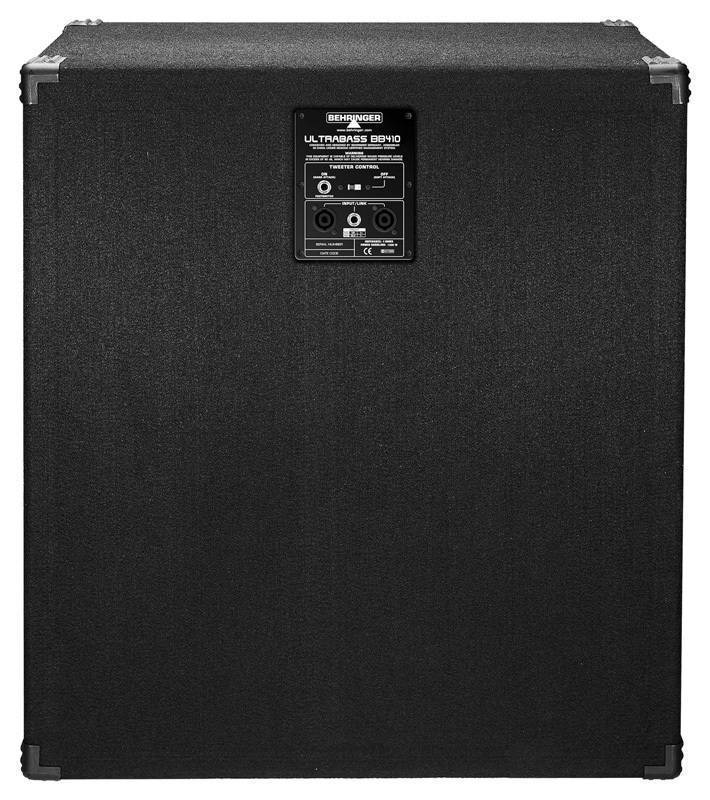 Behringer 1200 Watt Bass Cabinet W/4x10 Bugera Speakers - Long ...