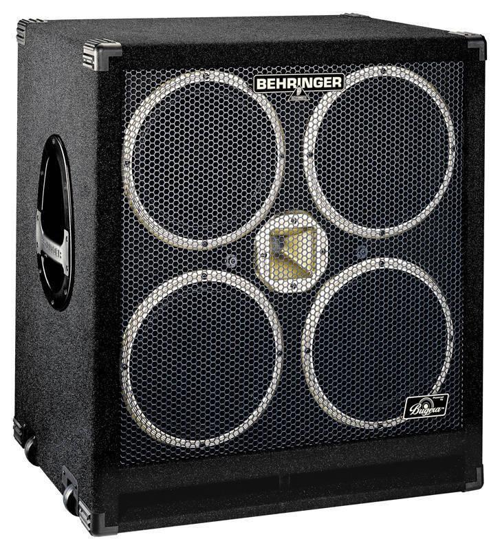 Behringer 1200 Watt Bass Cabinet W/4x10 Bugera Speakers - Long ...